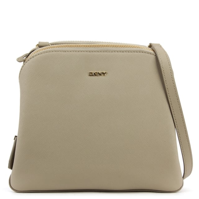Bryant Zip Soft Desert Leather Cross-Body Bag