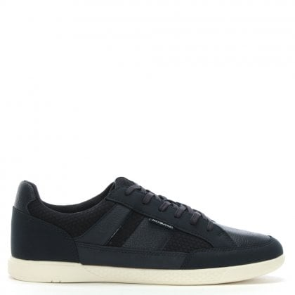 Byson Navy Lace Up Trainers