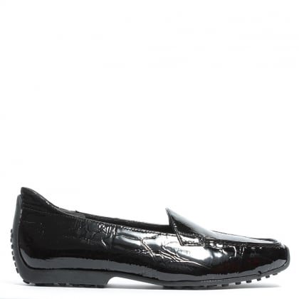 Cadogan Black Patent Leather Loafer