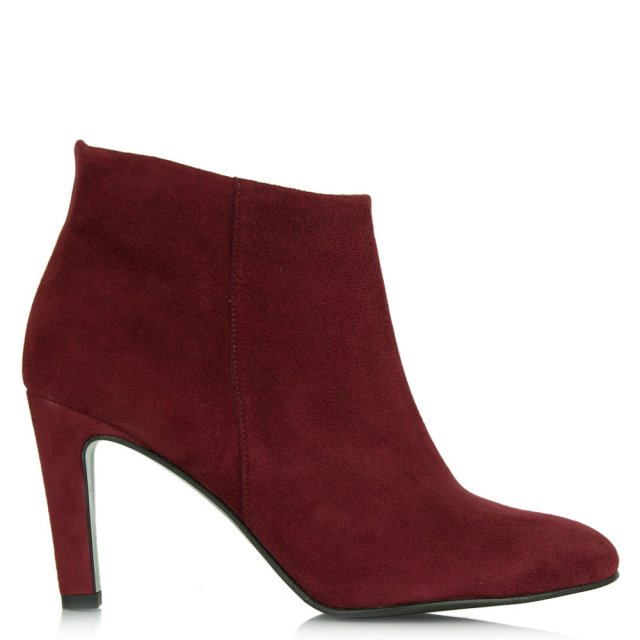 Canonbury Burgundy Women's Round Toe Ankle Boot