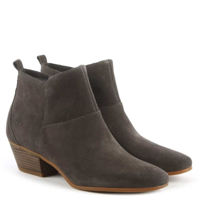 f462d3169b0 Timberland Carleton Grey Suede Ankle Boot