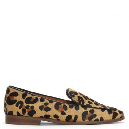 Carwell Leopard Calf Hair Loafers