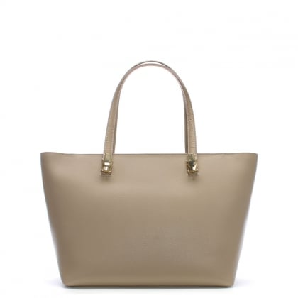 5274fd23da Corinne Taupe Leather Shopper Bag. Sale