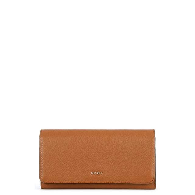 Chelsea Vintage Copper Leather Carryall Wallet