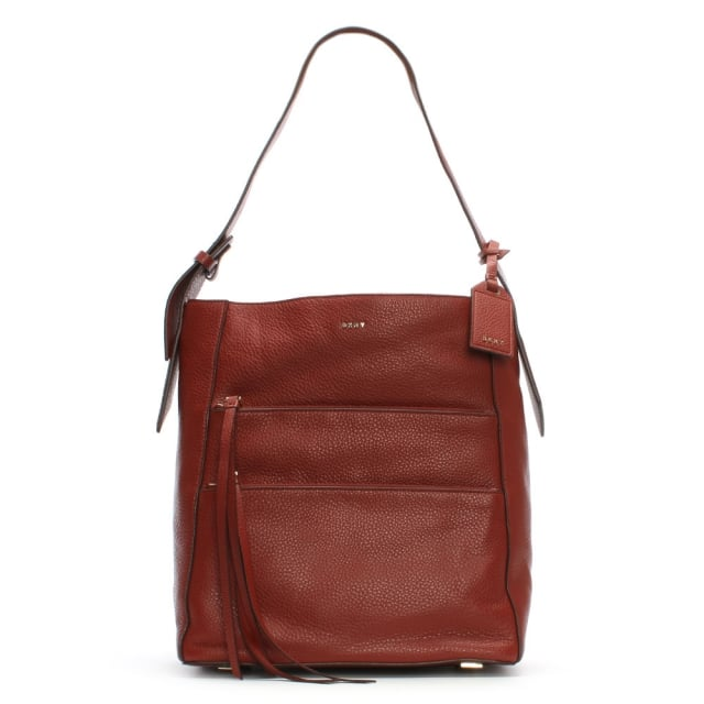 Chelsea Vintage Oxide Tumbled Leather Slouchy Hobo Bag