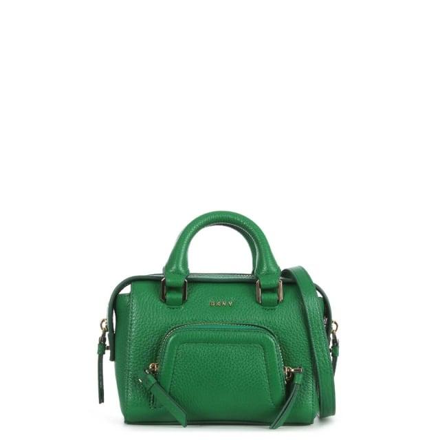 DKNY Chelsea Vintage Viridian Leather Mini