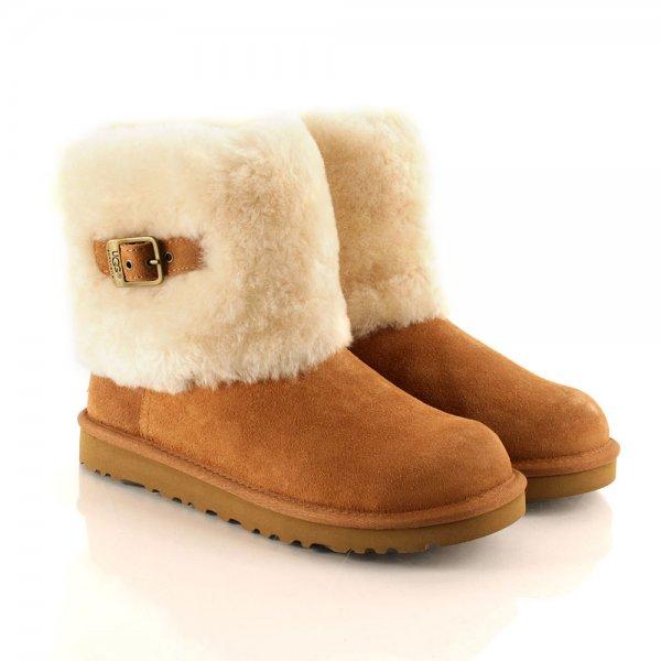 Chestnut Ellee Women's Flat Cuff Boot
