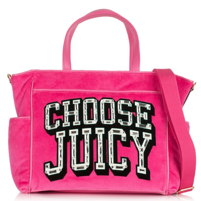 Choose Juicy Pink Baby Bag