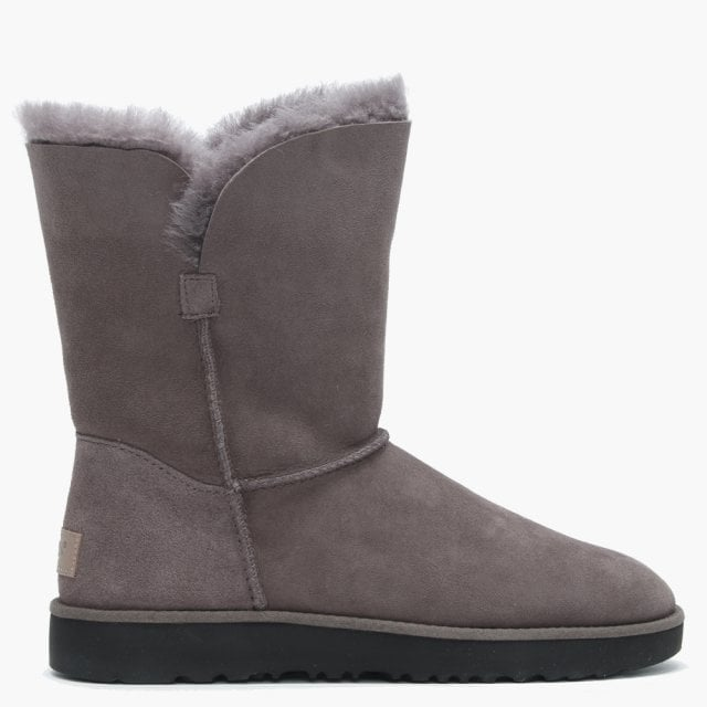 c71b005ec8a Classic Cuff Short Stormy Grey Ankle Boots