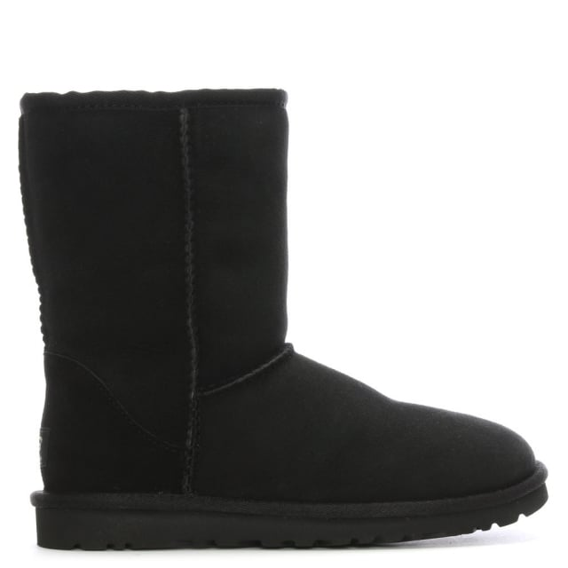 Classic Short Black Twinface Boot