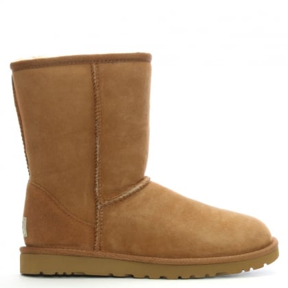 Classic Short Chestnut Twinface Boot