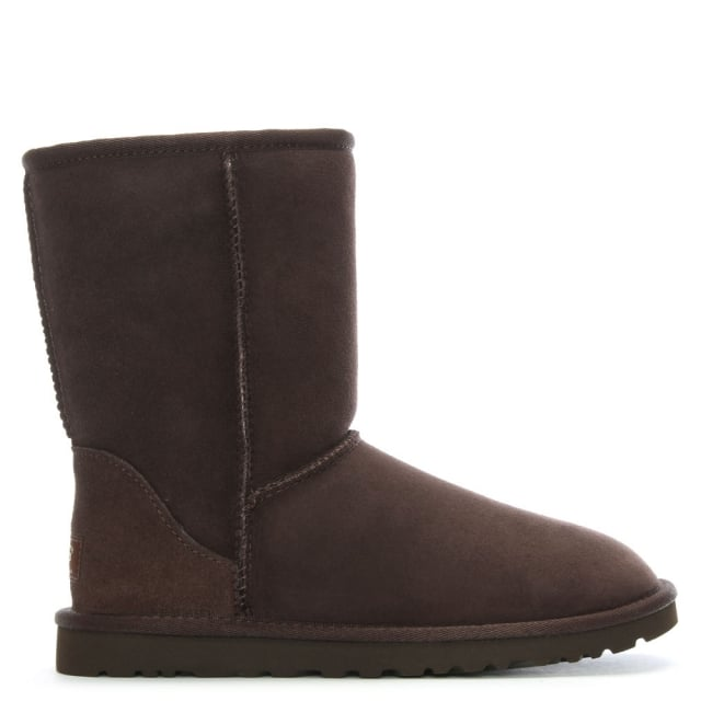 Classic Short Chocolate Twinface Boot