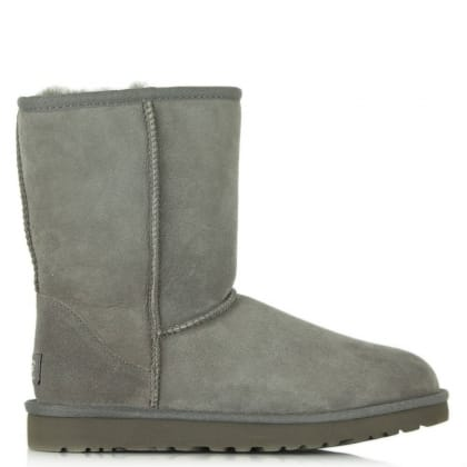Classic Short Grey Twinface Boot