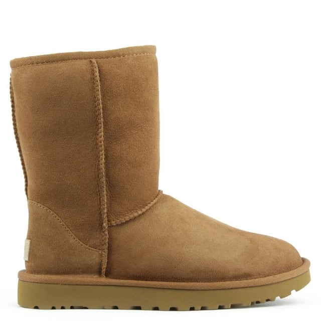 Classic Short II Chestnut Twinface Boot. Free Standard UK Delivery