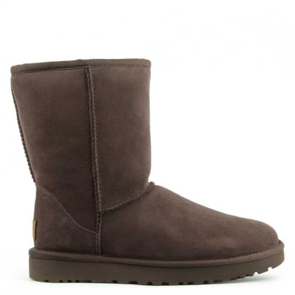 UGG Classic Short II Chocolate Twinface Boot