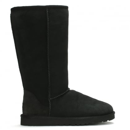 Classic Tall Black Twinface Boot