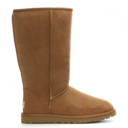 Classic Tall Chestnut Twinface Boot