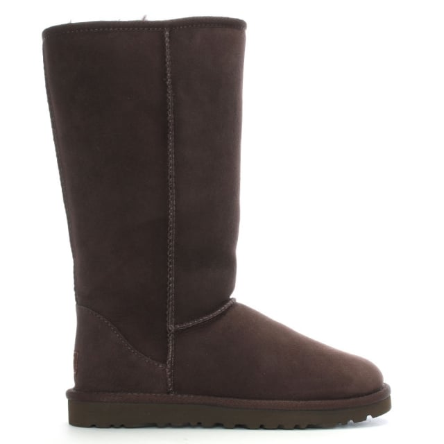 Classic Tall Chocolate Twinface Boot