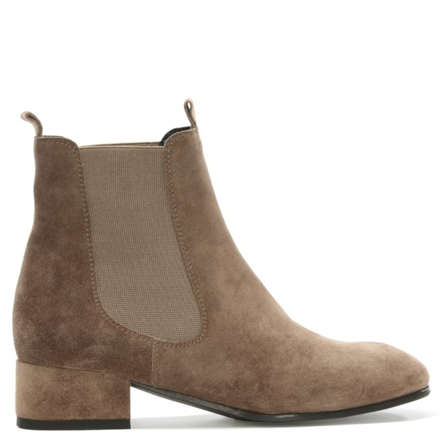 Cleary Tan Suede Chelsea Boot
