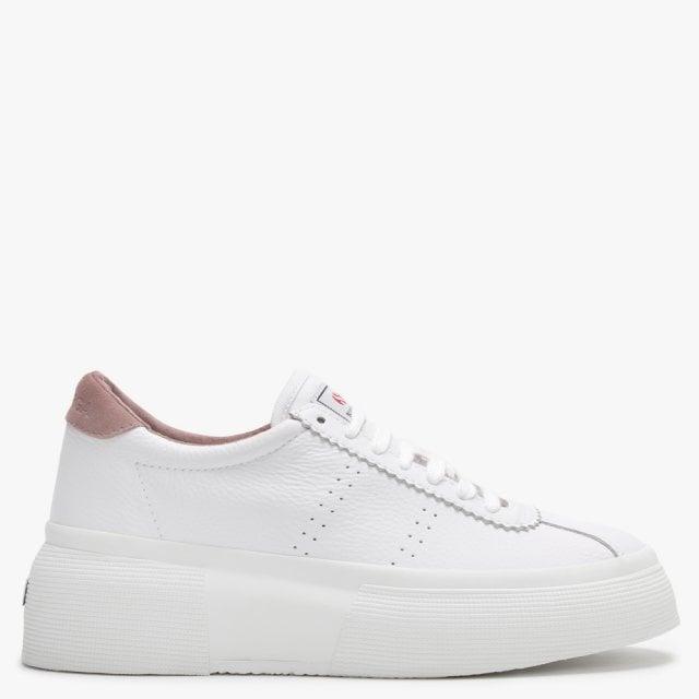 Superga 2822 Club UP5 White Leather