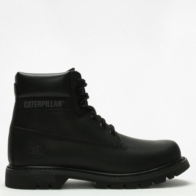 Cat Colorado Black Leather Work Boots 23d1e73692
