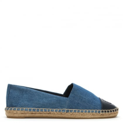 Colour Block Denim Espadrilles
