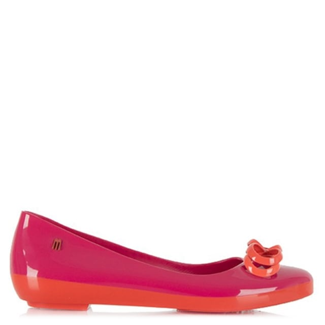 Colour Feeling Bow Ballet Flat