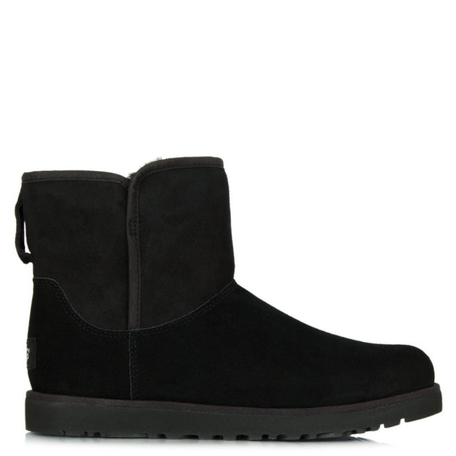 Cory Black Suede Slim Line Boot