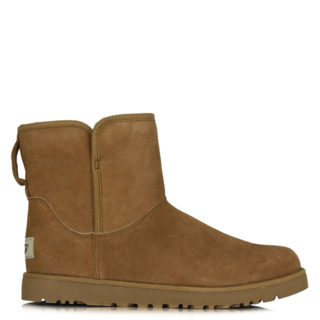 07d36bfe3b1 Cory Chestnut Suede Slim Line Boot