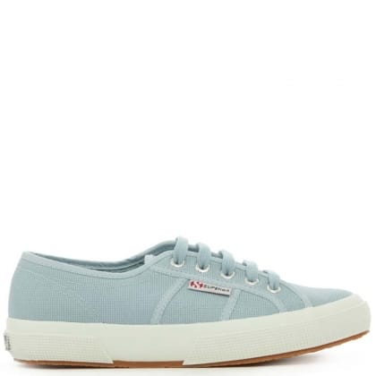 Cotu 2750 Blue Canvas Lace Up Trainer