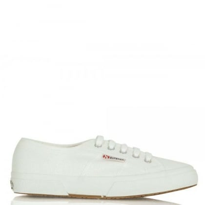 Cotu White Lace Up Trainer