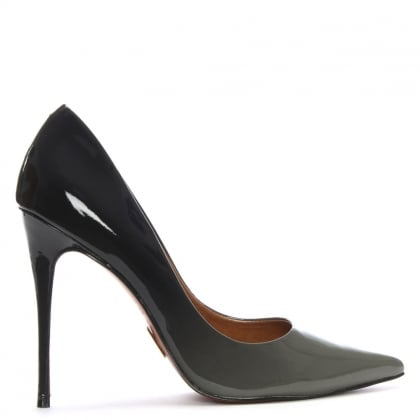 Cristina Ombre Grey Patent Court Shoes