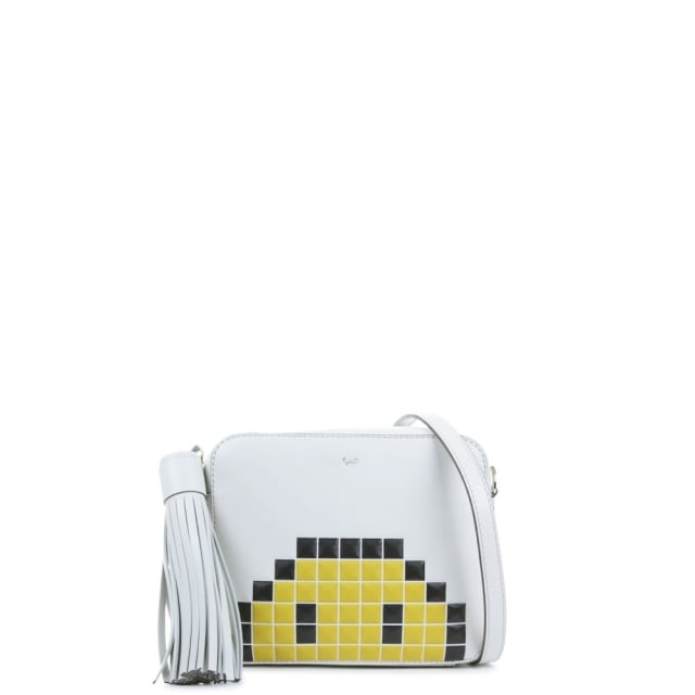 Crossbody Pixel Smiley Bag