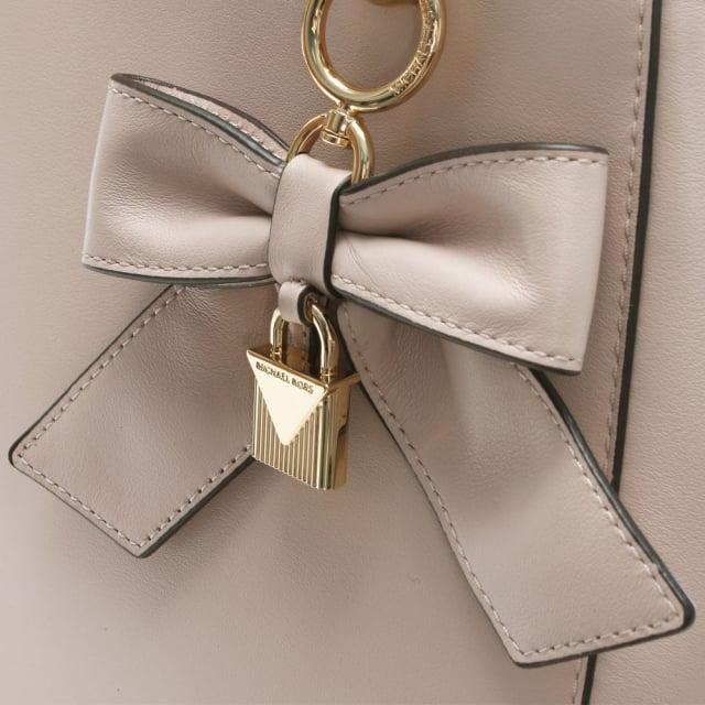 Michael Kors Cynthia Soft Pink Leather Bow Satchel Bag eebc89130c101