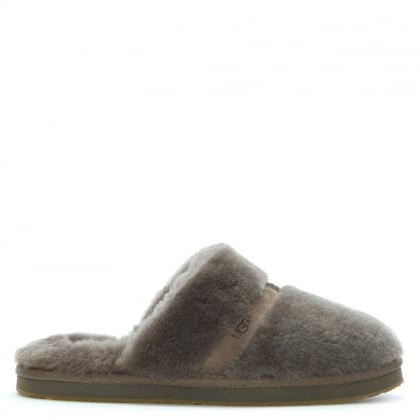 Dalla Slate Sheepskin Slippers