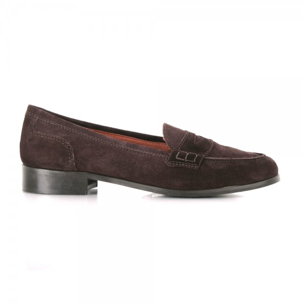 lady brown suede shoes