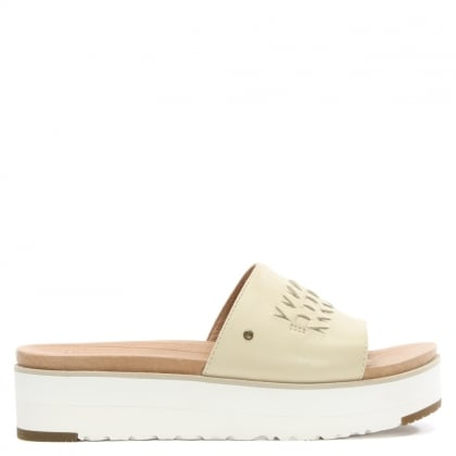 Delaney Canvas Leather Mule