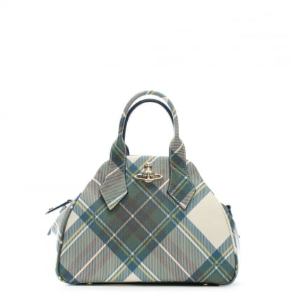 Derby Multicoloured Tartan Tote Bag