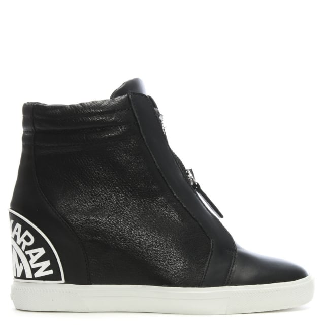 dkny high top trainers