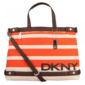 Orange 431210504 Women's Shopper Shoulder Bag