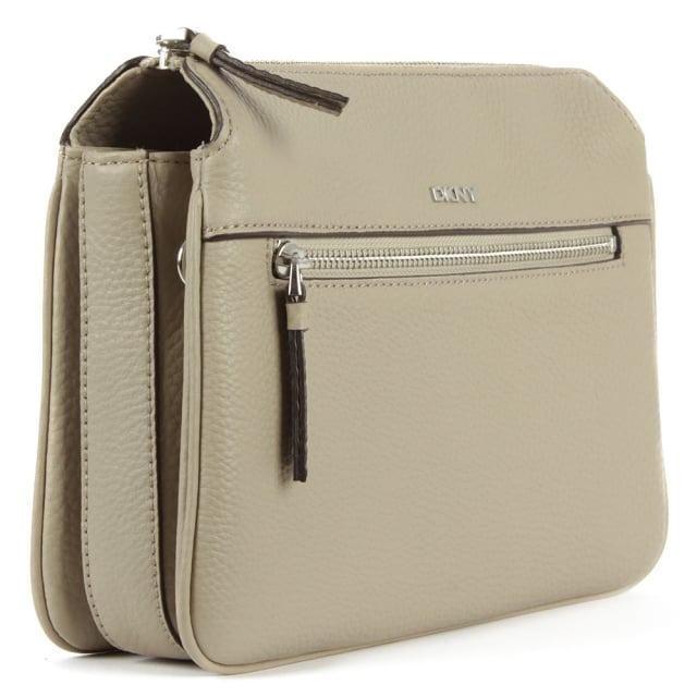 DKNY Tribeca Soft Desert Leather Triple Compartment Cross-Body Bag
