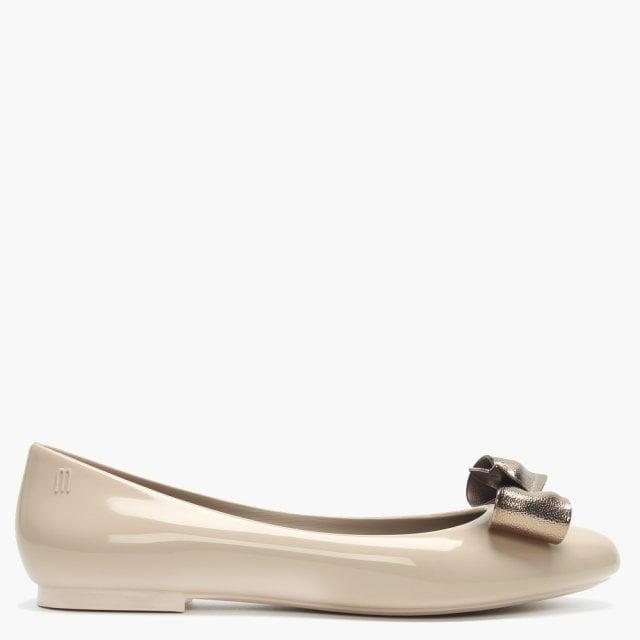 bb8e80d60e7 Melissa Doll Dream Bow Latte Ballet Pumps