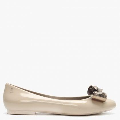 1e98a9762 Melissa Doll Dream Bow Latte Ballet Pumps