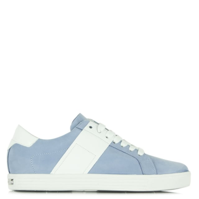 Dolls Blue Suede Lace Up Trainer