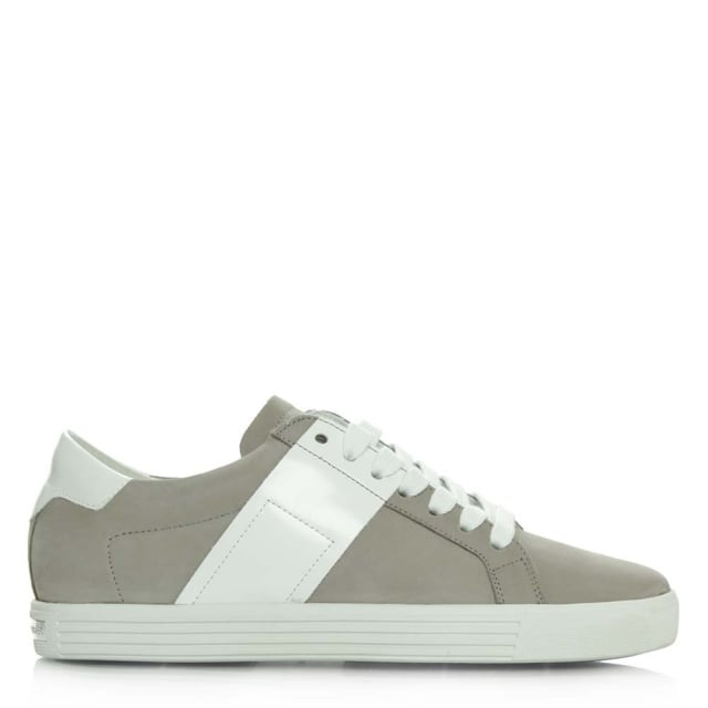 Dolls Grey Suede Lace Up Trainer