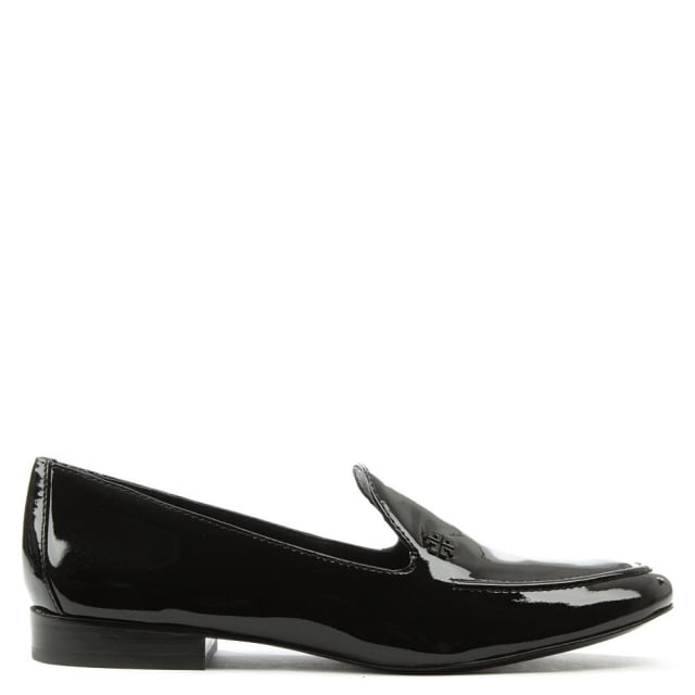 Dominique Black Patent Leather Loafer