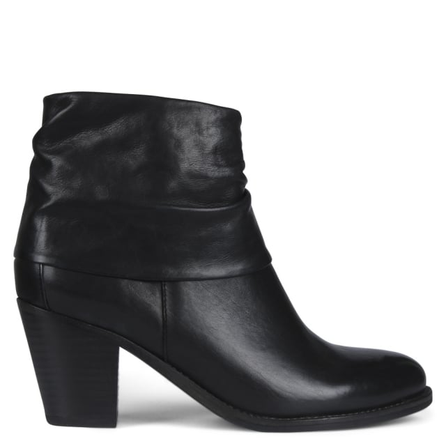 Kennel & Schmenger Dumaurier Black Leather Ankle Boots