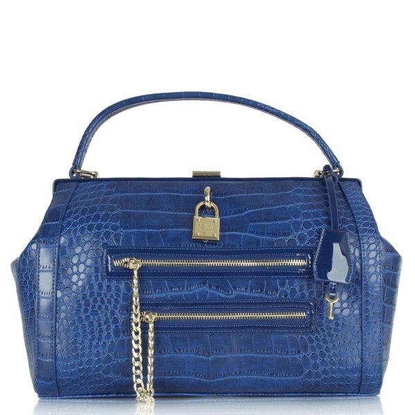 e1vibbc4 royal blue texture faux leather shoulder bag p77069 43967_image