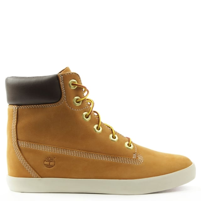 Earthkeepers Glastenbury 6 Inch Wheat Nubuck Boot