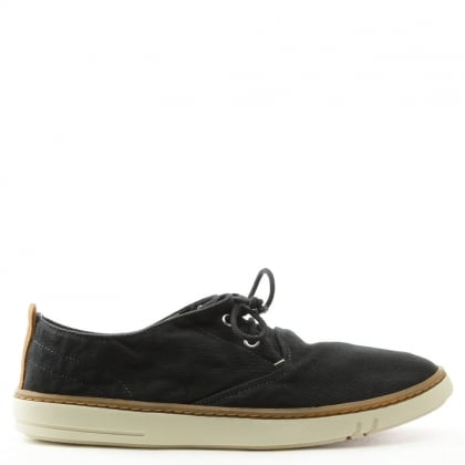 Earthkeepers Hookset Black Canvas Lace Up Shoe
